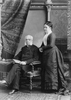 Original title:  Photograph John Lovell and lady, Montreal, QC, 1882 Notman & Sandham May 5, 1882, 19th century Silver salts on paper mounted on paper - Albumen process 15 x 10 cm Purchase from Associated Screen News Ltd. II-65030.1 © McCord Museum Keywords:  Photograph (77678)