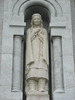 "Original title:    Description English: Statue of Kateri Tekakwitha on the outside of the Basilica of Sainte-Anne-de-Beaupré, near Quebec City. Français : Statue de Kateri Tekakwitha à l'extérieur de la Basilique Sainte-Anne-de-Beaupré, près de la ville de Québec. Date 8 July 2008(2008-07-08) Source Own work Author LovesMacs  The photographical reproduction of this work is covered under the Canadian Copyright Act of 1985 32.2 (1)(b), which states that ""it is not an infringement of copyright for any person to reproduce, in a painting, drawing, engraving, photograph or cinematographic work (i) an architectural work (defined as ""a building or structure or any model of a building or structure""), or (ii) a sculpture or work of artistic craftsmanship or a cast or model of a sculpture or work of artistic craftsmanship, that is permanently situated in a public place or building."" This freedom does not app"
