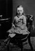 Original title:  Lucy Maud Montgomery age 6, ca.1880. Cavendish, P.E.I. Courtesy of L. M. Montgomery Collection, Archival & Special Collections, University of Guelph.