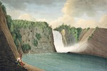 Titre original :    Description A View of the Montmorency Falls near Quebec Date 1791(1791) Source [1] Author Thomas Davies Permission (Reusing this file) Public domainPublic domainfalsefalse This image (or other media file) is in the public domain because its copyright has expired. This applies to Australia, the European Union and those countries with a copyright term of life of the author plus 70 years. You must also include a United States public domain tag to indicate why this work is in the public domain in the United States. Note that a few countries have copyright terms longer than 70 years: Mexico has 100 years, Colombia has 80 years, and Guatemala and Samoa have 75 years, Soviet Union has 74 years for some authors. This image may not be in the public domain in these countries, which moreover do not implement the rule of the shorter term. Côte d'Ivoire has a general copyright term of 99 yea