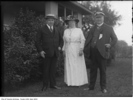 Original title:  William Lyon Mackenzie King with Lady and Sir Henry Pellatt at Lake Marie. 1911. City of Toronto Archives, Fonds 1244, Item 4019, William James family fonds. Lake Marie was the Pellatts' summer home.