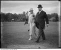 Original title:  Sir Henry Pellatt and his second wife Lady Pellatt. [ca. 1930]. City of Toronto Archives, Fonds 1244, Item 4023, William James family fonds. Lady Pellatt was formerly Catherine Welland Merritt (Mrs.) from St. Kitts.