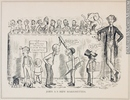 Original title:  Print John A.'s New Marionettes John Wilson Bengough 1886, 19th century Ink on newsprint - Photoengraving 25.3 x 31.5 cm Gift of Dr. Raymond Boyer M994X.5.273.203 © McCord Museum Description Keywords:  Cartoon (19139) , politics (general) (2228) , Print (10661)