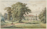 Titre original :  Henri Perré, The Grange, c. 1880. Watercolour, opaque watercolour, graphite on paper. Sheet: 31.4 x 51 cm. Art Gallery of Ontario, Goldwin Smith Collection, 1911. Image © 2018 Art Gallery of Ontario.