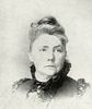 Original title:  Clara Mountcastle ca 1893. Wikipedia. Willard, Frances E., and Mary A. Livermore, eds. A Woman of the Century: Fourteen Hundred-Seventy Biographical Sketches Accompanied by Portraits of Leading American Women in All Walks Of Life. Moulton, 1893, p. 527.
