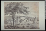 Original title:  Drawing Priests farm. Charles Dawson Shanly 1847, 19th century Graphite on paper 23.5 x 30.2 cm Gift of Miss Mary Shanly M971.171 © McCord Museum Description Keywords:  Drawing (18637) , drawing (18379)