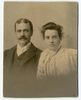 Original title:  Image courtesy of Esther Clark Wright Archives, Vaughan Memorial Library, Acadia University, Wolfville, Nova Scotia.  Photograph of J.F and Minnie Herbin. Date Created: 1897. Creator: Lewis Rice and Co., Wolfville, NS.