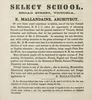 Original title:  Advertisement for the 'Select School' of E. Mallandaine. Source: https://archive.org/details/GR_2666/page/n21/mode/2up.