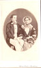 Original title:  Image from Hamilton Public Library, Local History and Archives. Photo of W.E. Sanford and his first wife Emeline Jackson (1838-1858). Married 1857, she died in childbirth, followed by the baby. She was the only child of Edward Jackson (1799-1872), and Lydia Ann Sanford Jackson (1804-1875), an aunt of W.E. Sanford.