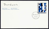 Original title:  Paul-Émile Borduas [philatelic record].  Philatelic issue data Canada : 35 cents Date of issue 22 May 1981