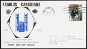 Titre original :  Marguerite Bourgeoys [philatelic record].  Philatelic issue data Canada : 8 cents