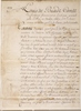 Original title:    Description English: Manuscript, Commission by Louis de Buade, comte de Frontenac, naming Le Moyne de Maricourt as a replacement of Le Moyne d'Iberville, May 15, 1690, On paper, 28.9 x 20.9 cm Français : Manuscrit, Commission de Louis de Buade, comte de Frontenac, nommant Le Moyne de Maricourt comme remplaçant de Le Moyne d'Iberville, 15 mai 1690, Papier, 28.9 x 20.9 cm Date 15 mai 1690 Source This image is available from the McCord Museum under the access number M499 This tag does not indicate the copyright status of the attached work. A normal copyright tag is still required. See Commons:Licensing for more information. Deutsch | English | Español | Français | Македонски | Suomi | +/− Author Louis de Buade, comte de Frontenac