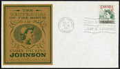 Titre original :  [Emily Pauline Johnson] [philatelic record].  Philatelic issue data 5 cents