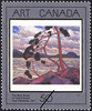 Titre original :  The West Wind, Tom Thomson, 1917 = Le vent d'Ouest, Tom Thomson, 1917 [philatelic record].  Philatelic issue data Canada : 50 cents