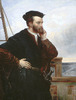 Titre original :  Portrait imaginaire de Jacques Cartier.