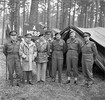 Original title:    Description FIELD MARSHAL MONTGOMERY VISITS CANADIAN TROOPS IN THE KLEVE - GOCH SECTOR, GERMANY, FEBRUARY 1945 - Left to right: Major General C Vokes (4th Armoured Division), General H D C Crerar (Army Commander), Field Marshal Sir Bernard L Montgomery, Lieutenant General B G Horrocks (30 British Corps, Attached Canadian Army), Lieutenant General G C Simonds (2 Corps), Major General D C Spry (3rd Infantry Division), and Major General A B Mathews (2 Division). Date 26 February 1945 Source This is photograph B 14892 from collections of Imperial War Museums (collection no. 4700-29) Author Morris, J D L (Sgt), No 5 Army Film & Photographic Unit Permission (Reusing this file) Public domainPublic domainfalsefalse This artistic work created by the United Kingdom Government is in the public domain. This is because it is one of the following: It is a photograph created by the United King