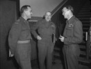 Titre original :  Brig. C. Churchill Mann (left), Gen. H.D.G. Crerar (centre) and Air Marshal E.C. Hudleston (right)
