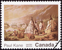 Original title:  Paul Kane, painter = Paul Kane, peintre [philatelic record].  Philatelic issue data Canada : 7 cents Date of issue 11 August 1971