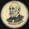 Titre original :  Lapel button for Mackenzie Bowell.