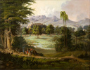 Titre original :    Artist Robert S. Duncanson (1821–1872)   Description American painter The Hudson River School Date of birth/death 1821 21 December 1872 Location of birth/death Fayette, New York Detroit, Michigan Work location Cincinnati, Detroit, Montreal, United Kingdom Authority control VIAF: 20487869 LCCN: n81052386 GND: 11930256X ULAN: 500019769 ISNI: 0000 0000 6629 5586 WorldCat Details of artist on Google Art Project Title Chapultpec Castle Object type Oil on canvas Date 1860 Dimensions Height: 609.6 mm (24 in). Width: 787.4 mm (31 in). Current location SCAD Museum of Art Native name Savannah College of Art and Design Location Savannah, Georgia, United States Coordinates 32° 4′ 38.45″ N, 81° 5′ 55.43″ W Established 2002 Website scadmoa.org Accession number 51 Notes More info at museum site Source/Photographer Google Art Project: Home - pic