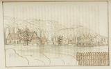 Original title:  [Mr. Rousseau's house]. Bay of St. Paul.