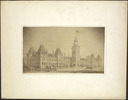 Titre original :  Parliament Buildings, Ottawa: Front View.