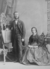 Titre original :  Photograph Professor Cornish and lady, Montreal, QC, 1866 William Notman (1826-1891) 1866, 19th century Silver salts on paper mounted on paper - Albumen process 14 x 10 cm Purchase from Associated Screen News Ltd. I-23778.1 © McCord Museum Keywords:  mixed (2246) , Photograph (77678) , portrait (53878)