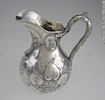 Original title:  Water pitcher Robert Hendery 1862, 19th century Silver 25 x 21 x 16 cm Gift of The Rev. Dr. Davena Davis M2006.77.1 © McCord Museum Keywords: