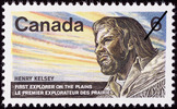 Titre original :  Henry Kelsey, first explorer of the Plains = Henry Kelsey, premier explorateur des Prairies [philatelic record].  Philatelic issue data Canada : 6 cents Date of issue 15 April 1970