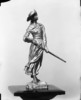 Original title:  Photo of a small statue of Madeleine de Verchères for Lady Grey.