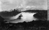 Original title:  Photograph River and falls, painting by Otto Reinhold Jacobi, 1860, copied for Mr. B. Wilson, about 1938 Wm. Notman & Son 1937-1940, 20th century Silver salts on film (nitrate) - Gelatin silver process 20 x 25 cm Purchase from Associated Screen News Ltd. VIEW-26133 © McCord Museum Keywords:  Art (2774) , Painting (2229) , painting (2226) , Photograph (77678)