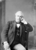 Titre original :  Hon. David Mills (Senator) (Minister of Justice) b. Mar. 18, 1831 - d. May 8, 1903.