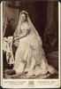 Original title:  Mrs. Nordheimer in bridal gown.