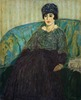 Titre original :    Description English: Blanche Baume, by James Wilson Morrice, 1911-1912. Oil on Canvas. In the Collection of the National Gallery of Canada. Deutsch: Blanche Baume, beim James Wilson Morrice, 1911-1912. Ol auf Leinwand. Date December 1911(1911-12) Source Website of the National Gallery of Canada, the painting itself is PD-Art Author James Wilson Morrice