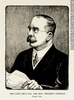 Titre original :  Print THE LATE LIEUT.-COL. THE HON. FREDERIC NICHOLLS Toronto, Ont. Arthur George Racey 1922, 20th century Ink on paper - Photoengraving 30.2 x 22.8 cm Gift of Mr. David Ross McCord M20111.109 © McCord Museum Keywords:  Cartoon (19139) , portrait (53878) , Print (10661)