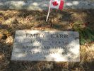 Original title:    Description Grave marker of Emily Carr at Ross Bay Cemetery, Victoria BC. Date 4 September 2006 Source Own work Author KenWalker kgw@lunar.ca Permission (Reusing this file) CC-BY-SA-2.5