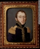 Titre original :  Painting, miniature Portrait of Aaron Ezekiel Hart, 1803-1857 Dominic Boudet About 1831, 19th century 5.9 x 5 cm Gift of Mr. Gerald Ephraim Hart M18640 © McCord Museum Keywords:  male (26812) , Painting (2229) , painting (2226) , portrait (53878)