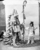 Titre original :  Hayter Reed, Deputy Superintendent General of Indian Affairs, and his stepson, Jack Lowery, dressed in Indian costumes for a historical ball on Parliament Hill.