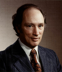 Titre original :  Portrait of the Rt. Hon. Pierre E. Trudeau.