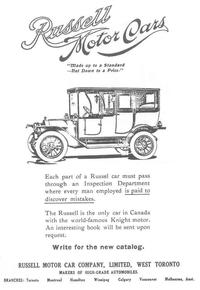 Titre original :  File:Ad for Russell Motor Car Company.jpg - Wikimedia Commons