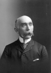 Titre original :  Portrait of Peter Henderson Bryce taken in 1890.