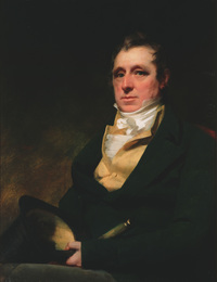 Original title:  Brigadier-General Alexander Walker of Bowland painted by Sir Henry Raeburn. Image courtesy of Christchurch Art Gallery Te Puna o Waiwhetu, presented by the Walker family, 1984.