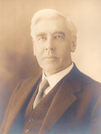 Original title:  Frank Stanfield. Image courtesy of Stanfield's Ltd., Truro, Nova Scotia.