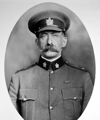 Titre original :  Malcolm Smith Mercer. Image courtesy of The Queen's Own Rifles of Canada Regimental Museum and Archives.