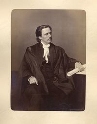 Original title:  [Honorable Joseph Adolphe Chapleau] [image fixe] / Studio of Inglis