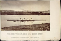 "Original title:  The renowned ""Paris"" crew, Champion Oarsmen of the World."