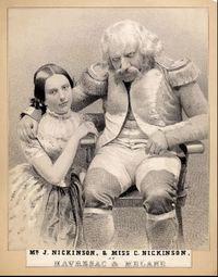 "Original title:  John Nickinson as Havresac and his daughter Charlotte as Melanie in ""Napoleon's Old Guard"".  Creator: Sarony & Major. Physical Collection: University of Illinois Theatrical Print Collection. ID Number: N632-01. Collection Title: Portraits of Actors, 1720-1920, University of Illinois Library. https://digital.library.illinois.edu/items/8e3505e0-4e7d-0134-1db1-0050569601ca-f#?c=0&m=0&s=0&cv=0"