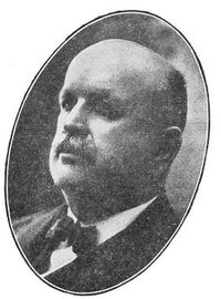 Original title:  George McAvity. From: https://archive.macleans.ca/article/1929/3/1/brass-brains-and-backbone#!&pid=18 - 1 March 1929, MacLean's.