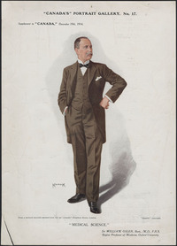 Original title:  Sir William Osler, Bart.