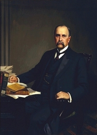 Original title:    Description English: William Osler by Thomas C. Corner (1865-1938), 1905. Source: The Alan Mason Chesney Medical Archives Date 2007-02-09 (original upload date) Source Transfered from en.wikipedia Transfer was stated to be made by User:YUL89YYZ. Author Original uploader was YUL89YYZ at en.wikipedia Permission (Reusing this file) PD-US
